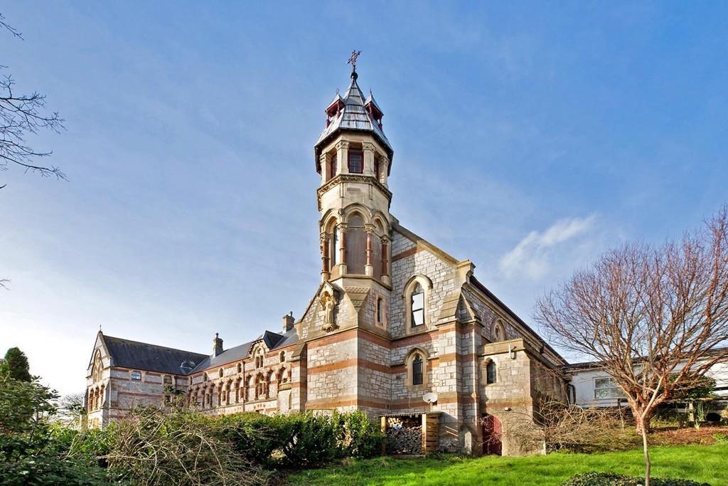 Exterior St Scholastics Abbey, Teignmouth